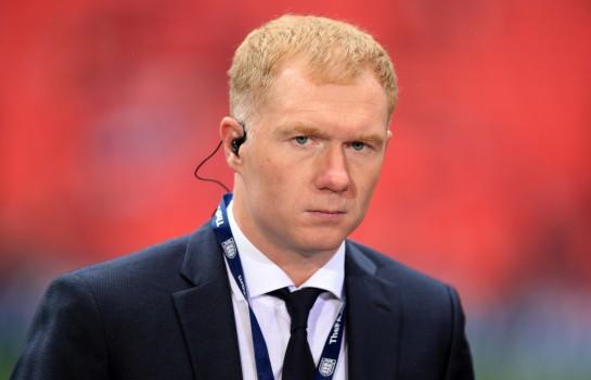 Paul Scholes, le nouvel entraineur d'Oldham Athletic.