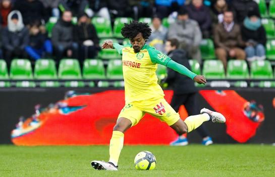 Samuel Moutoussamy, milieu de terrain du FC Nantes.