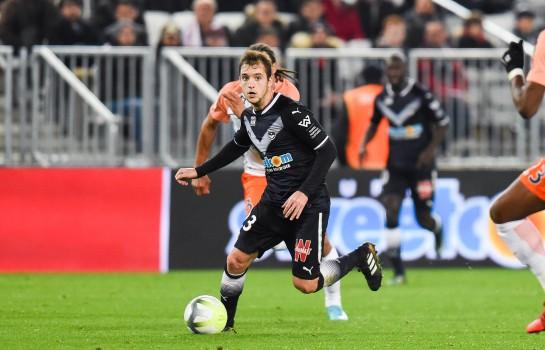 Après un prêt à l' ASSE, Valentin Vada a fait son retour à Bordeaux.
