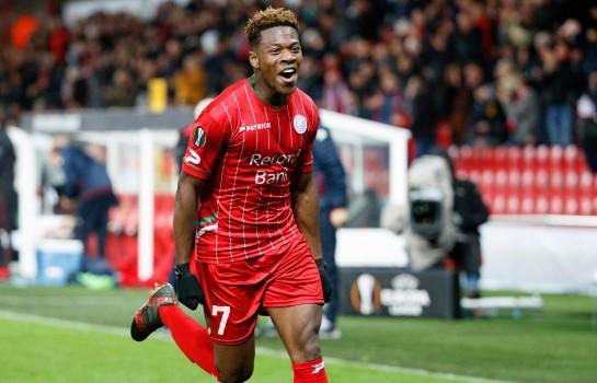 Aaron Leya Iseka, recrue estivale de Toulouse FC.