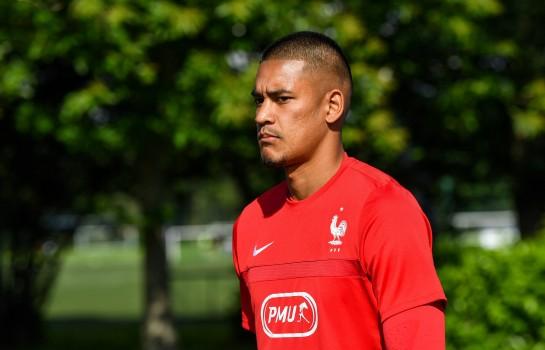 Alphonse Areola, gardien de but du PSG et de l'équipe de France.