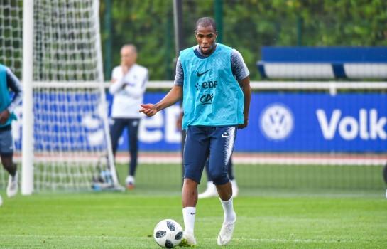 Djibril Sidibé, défenseur de l'AS Monaco et des Bleus de France.