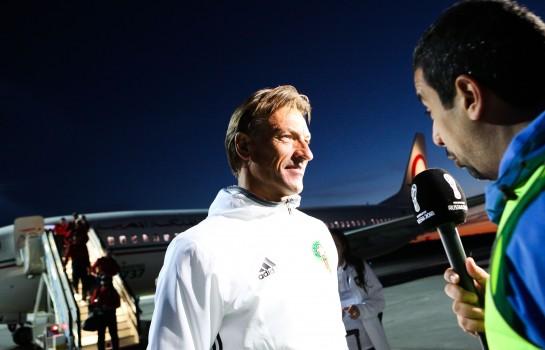 Hervé Renard encense Cristiano Ronaldo.