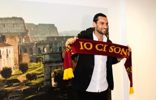 Javier Pastore a quitté le PSG cet été pour s'engager avec l'AS Rome.