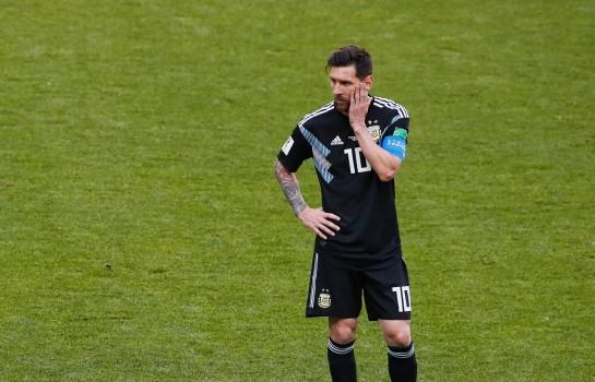 Lionel Messi en difficulté avec l'Argentine au Mondial