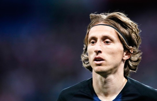 Luka Modric et la Croatie affronte l'Equipe de France en finale du Mondial.
