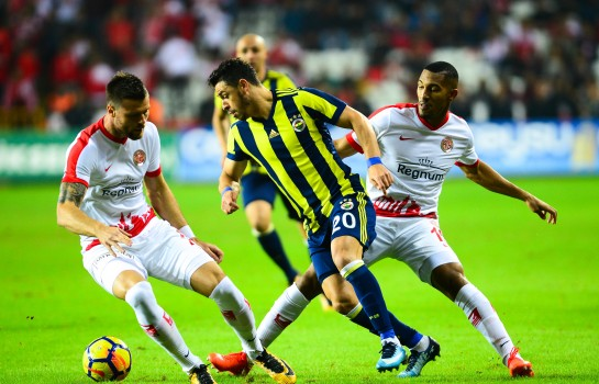 William Vainqueur, milieu défensif d'Antalyaspor en Turquie.