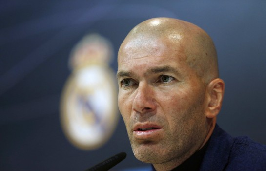 Zinedine Zidane, entraineur du Real Madrid.