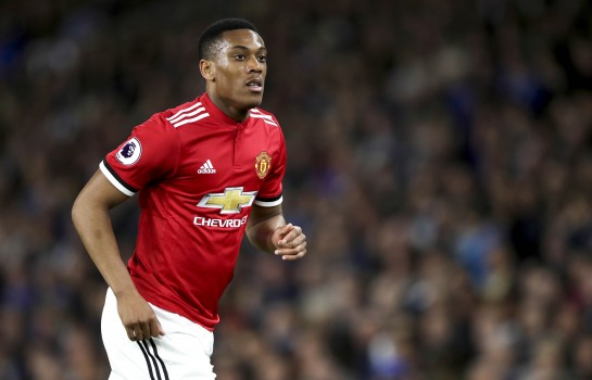 Anthony Martial, attaquant de Manchester United.