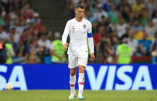 Ronaldo, le capitaine du Portugal.