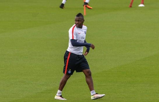 Hervin Ongenda, attaquant  de 23 ans formé au PSG.