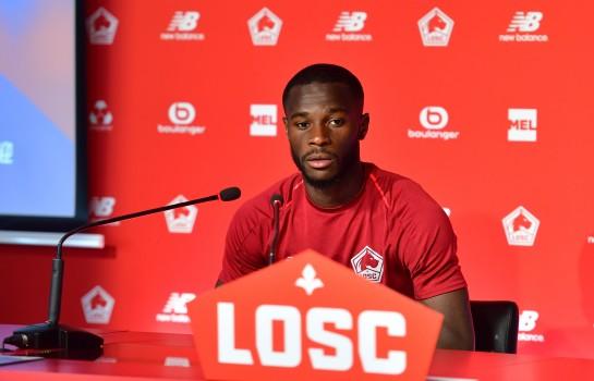 Jonathan Bamba, attaquant du LOSC formé à l'ASSE.