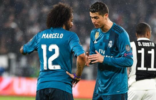 Marcelo et Ronaldo sous le maillot du Real Madrid.