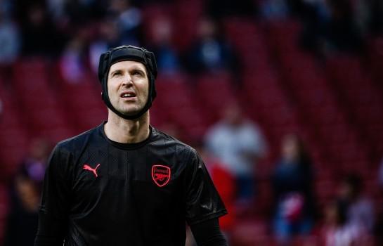 Petr Cech, gardien de but à Arsenal.