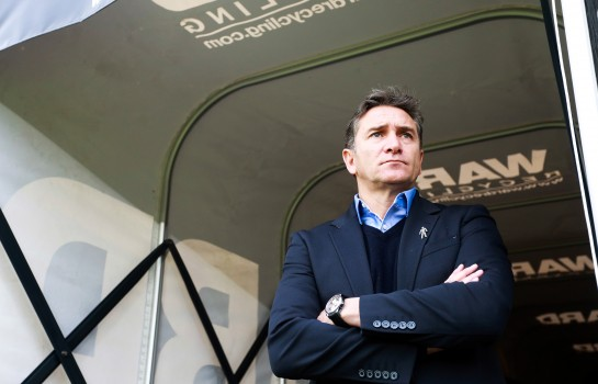 Philippe Montanier, entraîneur du RC Lens.