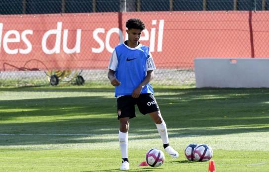 Sofiane Diop, milieu de terrain de l'AS Monaco.