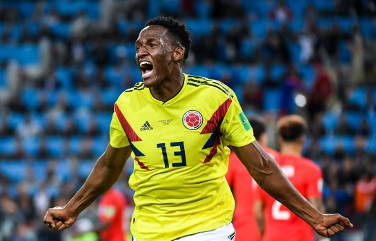 Yerry Mina, défenseur central d'Everton.