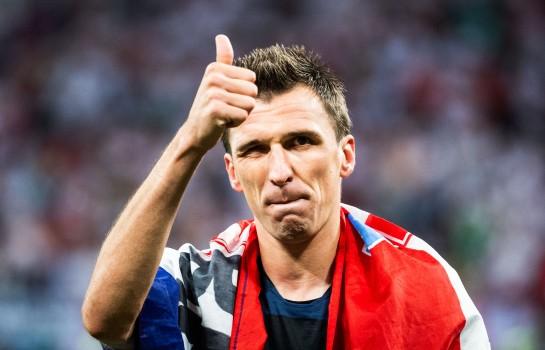 Mario Mandzukic sous le maillot de la Croatie