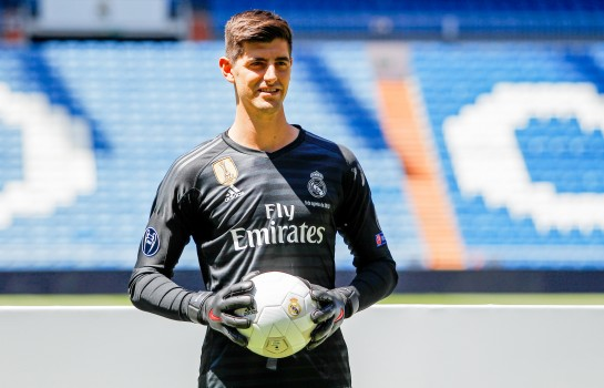 Thibaut Courtois, gardien de but  du Real Madrid.