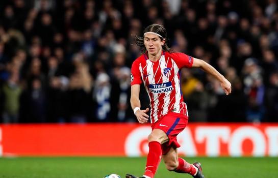 Filipe Luis, latéral gauche Atlético Madrid.
