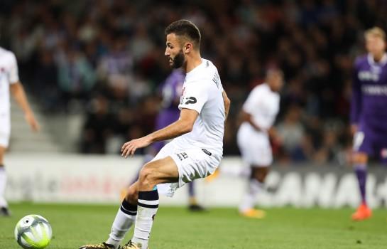 Franck Honorat, attaquant recruté par l'ASSE à Clermont Foot.