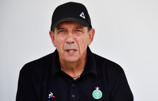 Jean-Louis Gasset, entraîneur de l' ASSE.