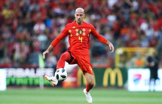 Laurent Ciman, défenseur central belge de 33 ans.