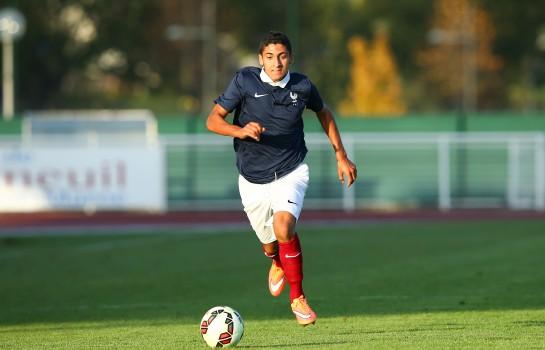 Nabil Alioui, attaquant de l'AS Monaco et international Tricolore U-19