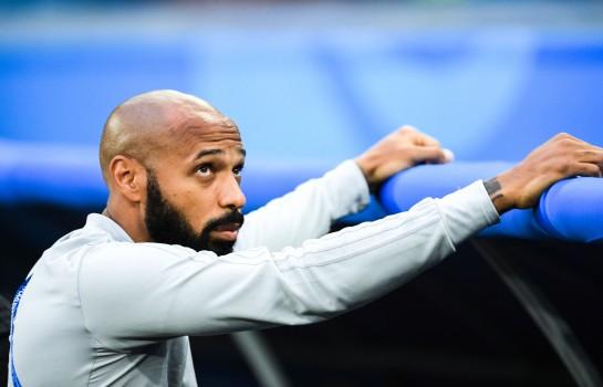 Thierry Henry fortement pressenti sur le banc de l'AS Monaco.
