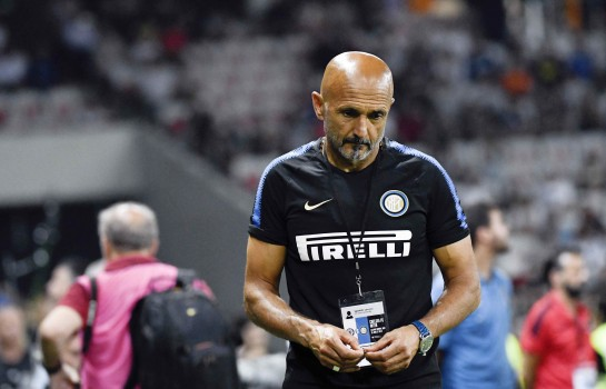 Luciano Spalletti, entraîneur de l'Inter Milan.