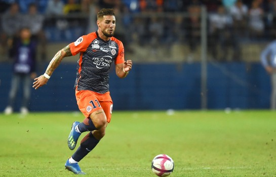 Andy Delort, attaquant au Montpellier HSC.