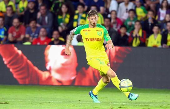 Emiliano Sala, buteur du FC Nantes.