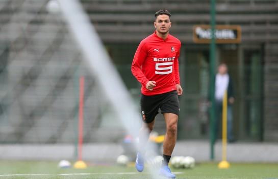 Hatem Ben Arfa, attaquant du Stade Rennais.