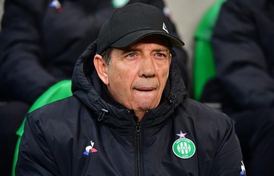 Jean-Louis Gasset, coach de l' ASSE.