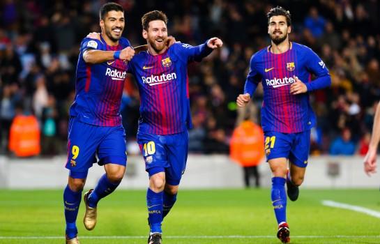 Luis Suarez et Leo Messi au FC Barcelone