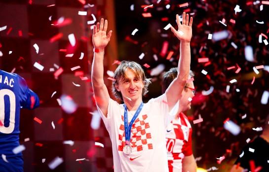 Luka Modric, grand favori pour le Ballon d'Or.