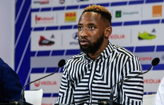 Moussa Dembélé, nouvel attaquant de l'OL.