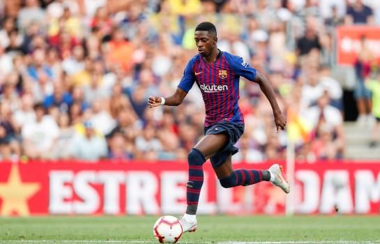 Ousmane Dembélé fort apprécié par Ernesto Valverde