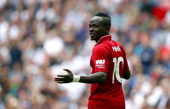 Sadio Mané, l'attaquant de Liverpool.