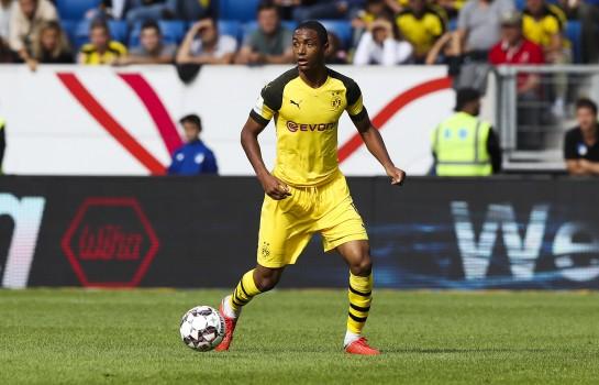 Abdou Diallo, défenseur central de l'AS Monaco.