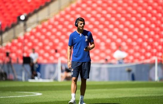 Alvaro Morata, attaquant de Chelsea.
