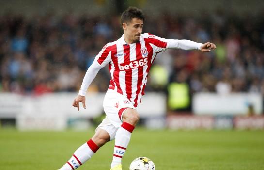 Bojan Krkic, milieu offensif de Stoke City.