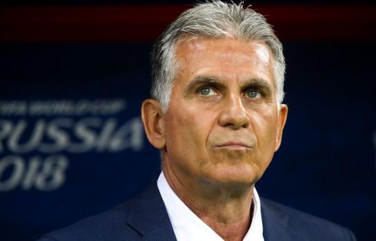 Carlos Queiroz, ex-coach du Real Madrid et actuel sélectionneur de l'Iran.