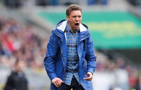 Julian Nagelsmann, coach d'Hoffenheim.