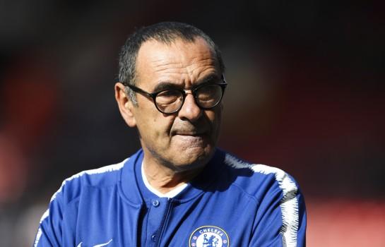 Maurizio Sarri, entraineur de Chelsea.