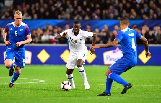 Tanguy Ndombele, milieu de terrain de l'OL et de l'Equipe de France.