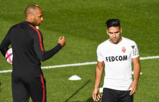 Radamel Falcao et Thierry Henry à l'AS Monaco.