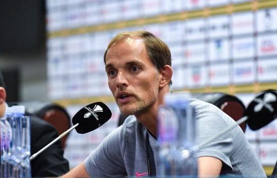 Thomas Tuchel entraineur du PSG.