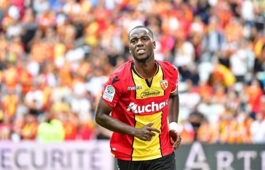 Yannick Gomis, attaquant au RC Lens.