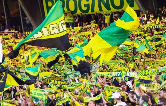 Les supporters du FC Nantes interdit de déplacement à Reims.